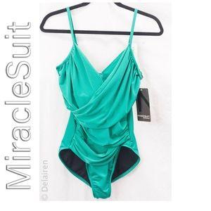 MagicSuit by MiracleSuit Harper Emerald Green Swim